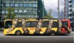 bus-werbung-snake-kopenhagen-zoo