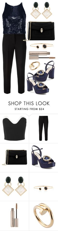 """before the morning comes"" by angelicachen ❤ liked on Polyvore featuring Thierry Mugler, MaxMara, Bulgari, Miu Miu, Marni, ANTONINI, Laura Mercier, Cartier and Alice + Olivia"