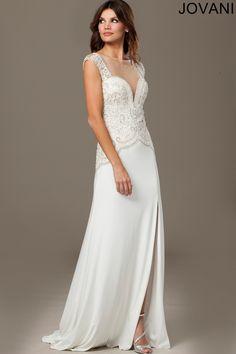 Cap Sleeve Jersey Gown 98634