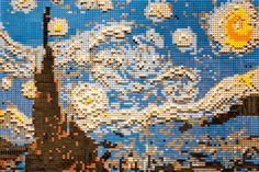 Legos at Franklin Institute