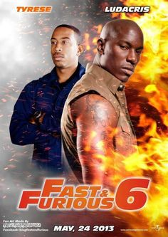 Fast and Furious 6 2013 Movie Poster Wallpapers Furious 7 Movie, The Furious, Movie Fast And Furious, Cinema Posters, Movie Posters, Paul Walker Movies, Tv Show Music, Ludacris, Movies Worth Watching