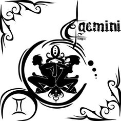 "DeviantArt ~MPtribe ""Zodiac Sign Tattoo : Gemini"""