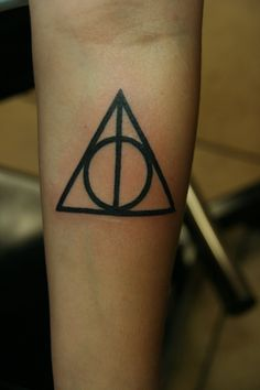 Deathly Hallows Harry Potter Tattoo