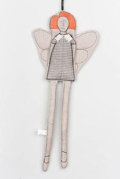Your place to buy and sell all things handmade Small Christmas Gifts, Modern Christmas, Christmas Angels, Angel Decor, Get Well Gifts, Handmade Ornaments, Fairy Dolls, Tooth Fairy, Hanging Ornaments