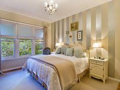 Beige bedroom design