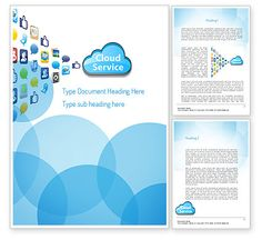 Cloud Service Word Template http://www.word.poweredtemplate.com/word-templates/technology-computers/11104/0/index.html