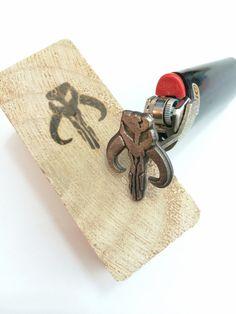 Mandalorian Branding Iron by niquegeek
