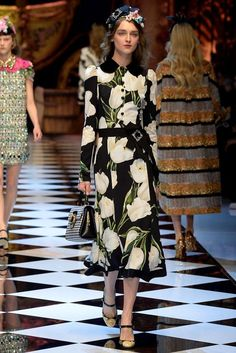 Dolce & Gabbana Fashion Shows & more details