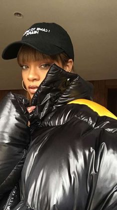 Rihanna Raf Simons oversized padded coat Fall 2016, Nasaseasons I came to break…
