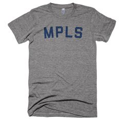 There's really nothing we need to say here. Theshirt gets it. Printed on a super soft black unisex American Apparel poly-cotton & heather grey Next Level tri-blend t-shirt. Designed and printed in Minnesota.