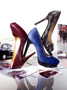 I love the colors!! Classic chic. Pump it #macysfallstyle