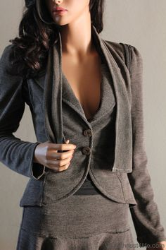 Steampunk Jacket Suit Gothic Office Wear Victorian Detective Noir Forties  - Chrisst 4 Life Gorgeous and can wear it anywhere