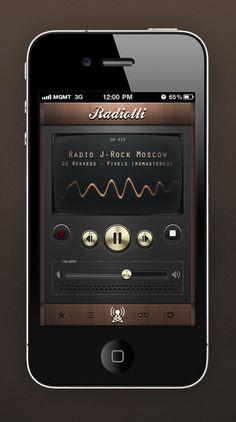 retro radio app