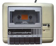 Remember when computer software was on cassette tapes? Here's a Commodore 1530 Datassette good old times. Gadgets, Alter Computer, Computer Music, Computer Science, Nostalgia, Old Technology, Old Computers, Radios, Vintage Toys