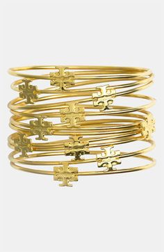 This would be brilliant to buy a set of these bangles then give one to each of your friends for Christmas! You only spent one price and they are getting a Tory birch bracelet