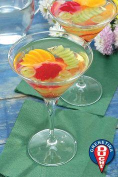 Fruit Cocktail Gelatin