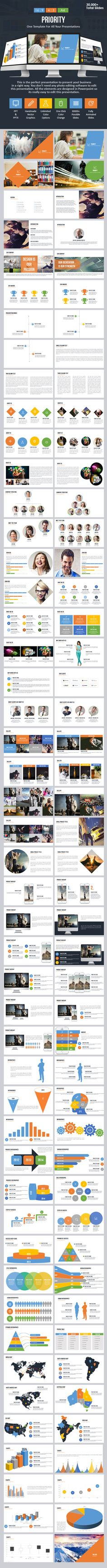 Priority - Multipurpose PowerPoint Template - Business PowerPoint Templates