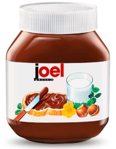 Joel's nutella :)