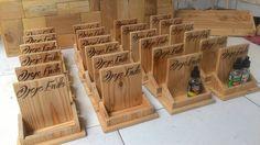 Packaging Liquid Vapor muat utk 3 liquid  bahan : kayu oak/jati belanda finsihing : clear  mari di order .. bs custom size jg lhoo   #instawood #woods #kayuoak #customdesign #woodsworking #jatibelanda #diy #handmade #rakunik #rakkayu #designwoods #furniture #kitchenset  #rakminimalis #vapor #vaporjogja #liquidvapor #packagingdesign #packagingwoods #rakminimalis by manifestoelv