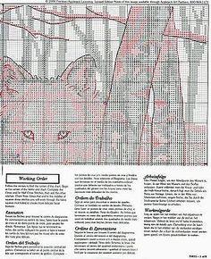 Timberwolves 4-Solo Patrones Punto Cruz | Aprender manualidades es facilisimo.com
