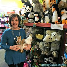 #HomeGrownStories - Melissa Cairns an Ohio native who has called Tipp City home for over 30 years has created a unique specialty toy shop for all ages in downtown Tipp City. Cairns @cairnstoys began as Cairns  Collectibles in the early 1980s and included a mix of vintage items antiques and specialty dolls and bears. Today Melissa hand selects dolls books games puzzles and other toys which she sells out of her  blue tiled downtown store. Cairns Toys has been in its present location on Main…