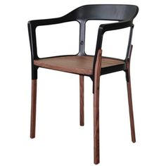 STEELWOOD CHAIR - Designer Chairs from Magis ✓ all information ✓ high-resolution images ✓ CADs ✓ catalogues ✓ contact information ✓ find your. Wood Arm Chair, Stool Chair, Chair Design, Furniture Design, Kartell, Wishbone Chair, Wood And Metal, Decoration, Designer