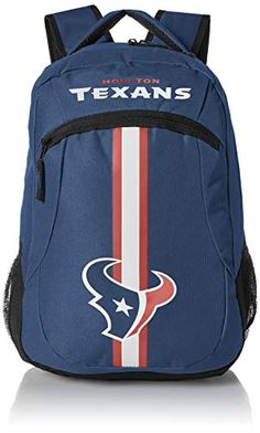 4f418cc0f84 FOCO Houston Texans Action Backpack, Team Color, One Size... https: