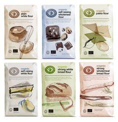 Doves Farm Organic Flour — The Dieline - Branding & Packaging