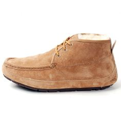 UGG 1003526 Men's Chestnut Suede Lace Up Chukka Boot Size 10 US 1198   Product details:  - Suede Upper  - Sheepskin Lining  - Rubber Outsole  - Lace Up  - Slipper/Chukka Boot  - Imported