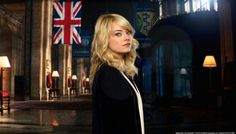 Emma Stone as Gwen Stacy from The Amazing SpiderMan 2 #gwensday