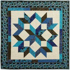Shimmer - Carpenter's Star by Calico Carriage Quilt Designs