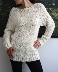 Mmm, soft sweater - Pattern from Pickles....nothing beats simple and modern...