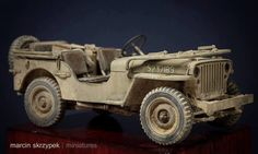 Jeep | Tamiya 1:35 scale
