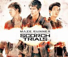 The Scorch Trials Poster - The Ivy Trio.