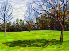 by Mandy Budan -- Spring Shadows