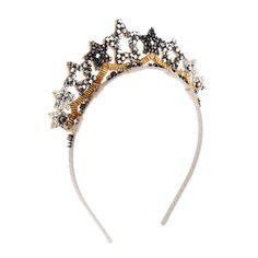 Girls' star crown headband
