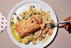 10 Super Simple Recipes For Our #TakeOutTakeout Challenge #refinery29  http://www.refinery29.com/easy-recipes-cooking-at-home#slide-3  Elettra: 8 Minute Salmon & Lazy Man's RisottoThis recipe serves one person, so you'll need to up the quantity if you want to have extra to take to work the next day! The Lazy Man's Risotto is also excellent on its own, over a big bed of spinach, or mixed in with ...