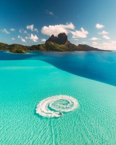 Nadire Atas on Beautiful Places to Visit Bora Bora , French Polynesia Vacation Places, Dream Vacations, Vacation Spots, Places To Travel, Places To See, Romantic Vacations, Italy Vacation, Honeymoon Destinations, Romantic Travel