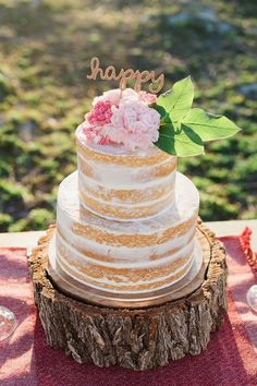Picture Of the hottest 2016 wedding trend 15 delicious dirty iced wedding cakes 9