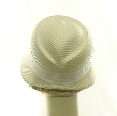 Sweetheart Straw Cloche Hat