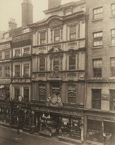 Arquitetura/Design - London Society for Photographing Relics of Old London Victorian Street, Victorian Life, Victorian London, Vintage London, Old London, London City, Victorian Houses, London History, British History