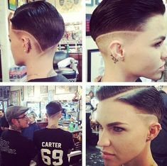 Ruby Rose #w4w #ShortHair