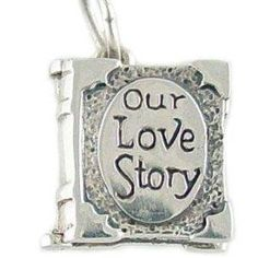 Cute love story locket
