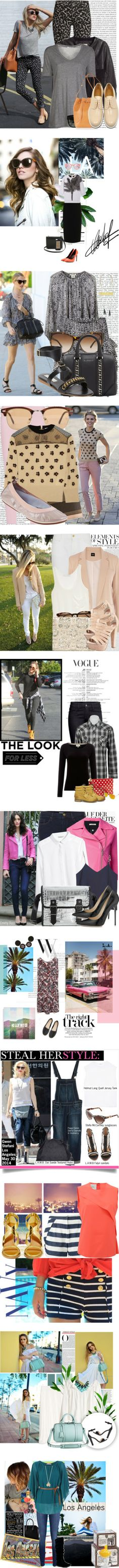 """""""You Asked: What to Wear in Los Angeles"""" by polyvore-editorial on Polyvore"""