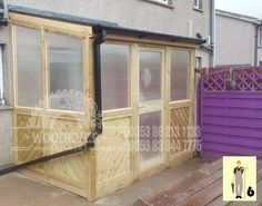 Lean To Roof, Lean To Shed, Glass Conservatory Roof, Carpentry And Joinery, Small Bungalow, Covered Walkway, Glass Roof, Shed Storage, Types Of Houses