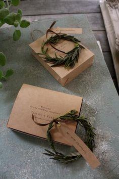 席札&メニュー(Paper Bag & Box) - ジィール オンラインショップ