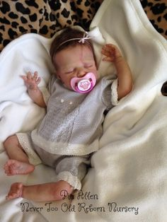 Harley Hess ( reborn doll) brought to life by BABY BANTER member Pia