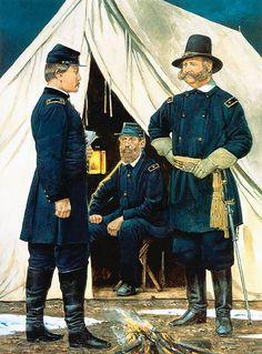 November 1862 • Major-General George McClellan  • Brigadier-General Henry Hunt  • Major-General Ambrose Burnside