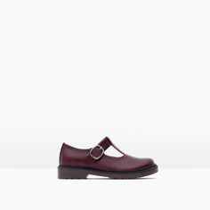 ZARA - KIDS - T-BAR SHOES WITH BUCKLE