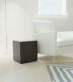 This #home #subwoofer combines #powerful #sound with a compact and #attractive #design. The elegant black finish of the #subwoofer #cabinet easily makes it an organic part of any home and #studio environment. #audio #devices.#Powered #Subwoofers #speakers